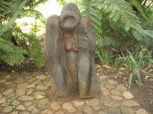 carved gorilla