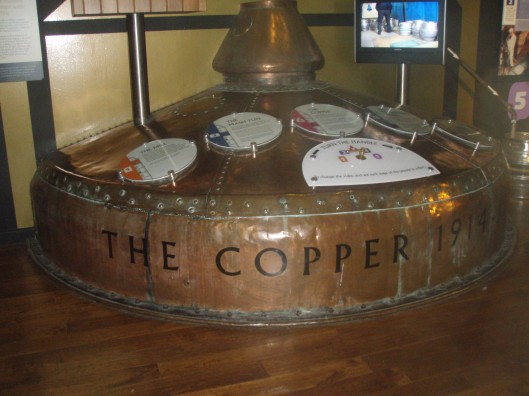 The Old Copper Kettle for brewing