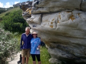 Glenda and Ian, my fellow walkers