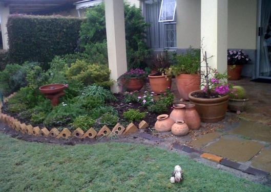 June's pretty no nonsense garden