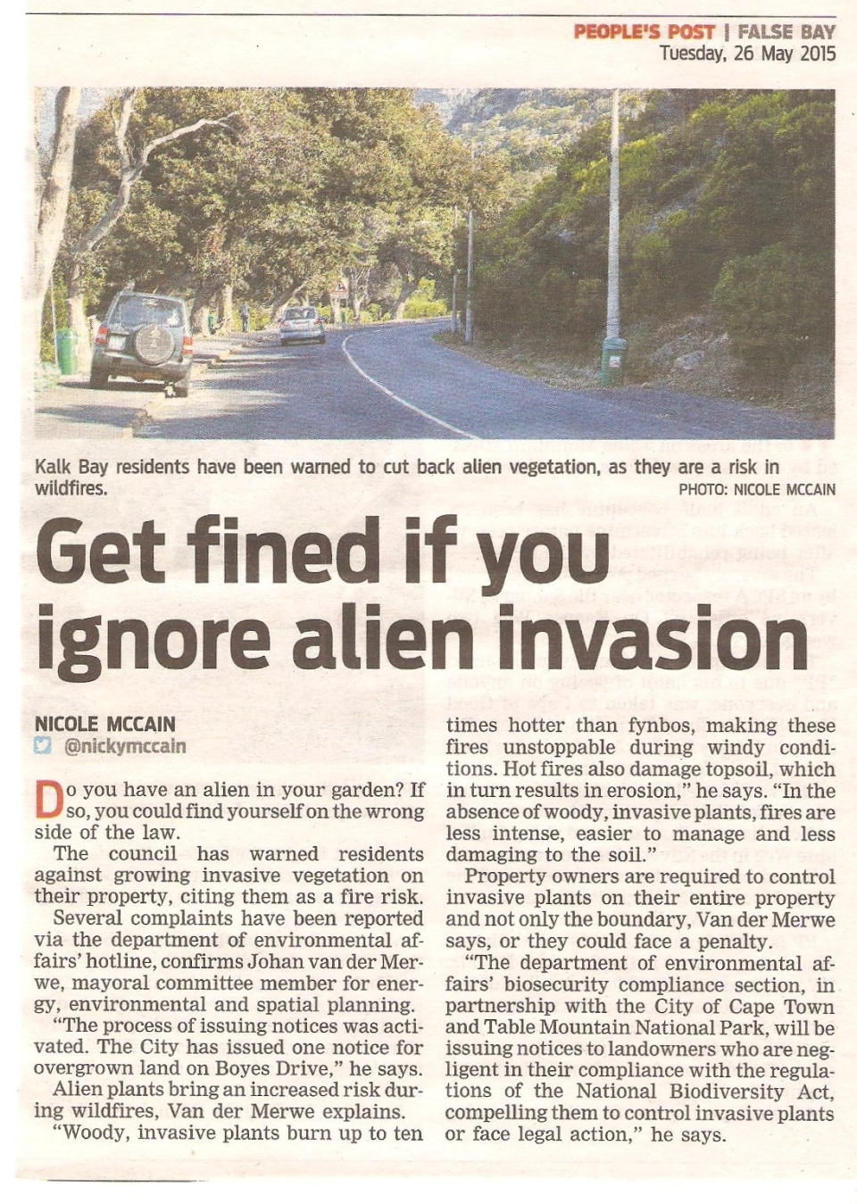 Get fined for Aliens